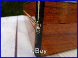 Elie Bleu Paris Humidor Cigars cave coffret a cigars en bois exotique