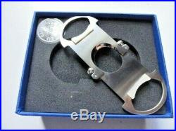 Elie bleu cutter with mother of pearl grips