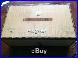 Elie bleu medals natural sycamore humidor