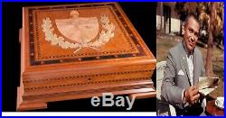 Fulgencio Batista President Cuba Us Humidor Personal Corona Cigar Art