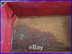 Great Antique HEAVY BRASS HUMIDOR CIGAR BOX CASKET Mythological scene 7Lb. AS IS