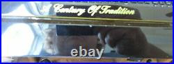Gurkha Desktop Humidor Extremely Rare Very Nice Quality Black Lacquer Excellent