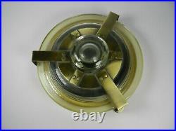 H Upmann Glass Cigar Humidor Canister Office Jar Vintage Cameroon 25