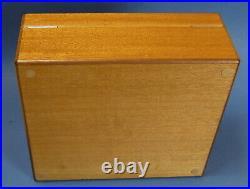 HERMÈS Humidor Zedernholz unbenutzt 25 cm x 22 cm x 10 cm #15668