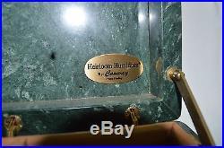 Heirloom Humidor By Conway Green White Marble Slate Cigar Credo Regulator Wood