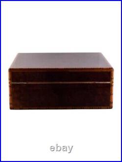Hermes Humidor H Logo Cigar Stunning Burlwood Storage Box Case Rrp £5685