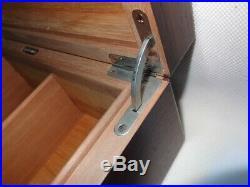 Hermes Vintage Wooden Humidor Cigar Box
