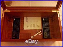Humidor Davidoff Zigarren Befeuchter Hygrometer Schrank Kunst Antiquitäten