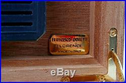 Humidor Francesco Lionetti, Florence mit 21 Zigarren Inhalt
