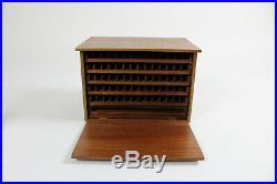 Humidor Zigarrenkasten Teak, dänisches Design, 60er-Jahre