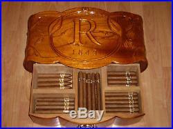 Humidor cave boite cigare box habanos habana vegas robaina (no cigar)