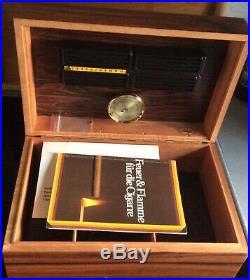Humidor davidoff Zigarren Schatulle Holz inklusive befeuchter hygrometer