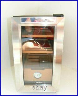 Klarstein El Presidente 23 Humidor Hygrometer 23L Cigar Storage (Used)