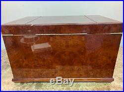 Large Vintage Mahogany Humidor