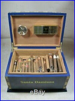 Large Vintage Santa Damiana La Romana Habana 2000 Cigar Humidor