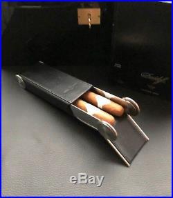 Laura Chavin Maison des Cigares Taschen Reise Humidor / Etui, Handarbeit, High End