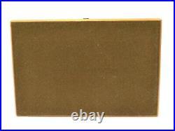 Louis Vuitton Coffret 75 Cigar Humidor Cigarette Case M58562 Wood Box Brown LV