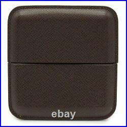 Louis Vuitton Taiga Cigar Tobacco Case Humidor Acajou Brown 10.5x10cm Pre-owned