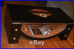 Luxus Riesig Sammler Rar Humidor Zigarren Cigar Inhalt Alt Eyecatcher Black