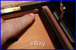 MONTE CRISTO RARE Silver PYRAMID Cigar HUMIDOR Limited Edition #210/500