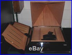 MONTECRISTO RARE Silver PYRAMID Cigar HUMIDOR Limited Edition #210/500