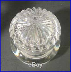 PAIRPOINT Antique American Brilliant ABP Cut Glass NEVADA Tobacco Jar Humidor