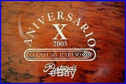 Partagas Humidor Aniversario x 2003 La Casa del Habano