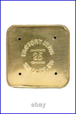 Rare 1910s litho Philadelphia humidor 25 cigar tin in excellent condition