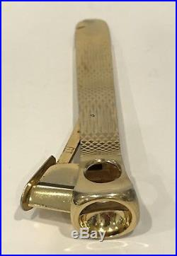 Rare! Vintage Alfred Dunhill Gold Plated Cigar Cutter Made in West Germany