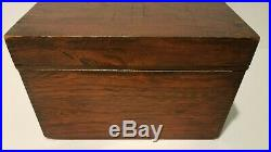 Rare Vintage Sargent Cigar Chest Humidor Patent date Dec. 11 1908