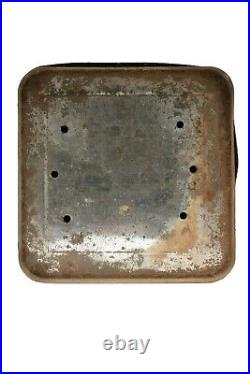 Rare1910s Ginks humidor 100 cigar tin in fair condition