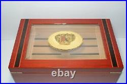 Romeo and Julieta Cigar Humidor Measures 16 L x 10.5 W x 6.5 Free Ship USA