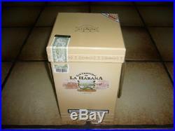 San Cristobal de la Habana Jar Porzellantopf in OVP Habanos -leer