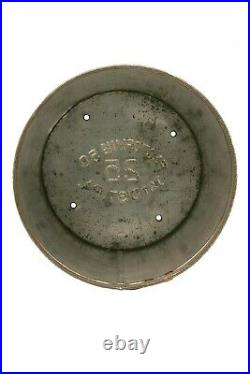 Scarce 1900s paper label Tungsten humidor 25 cigar tin in good condition
