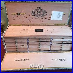 Scarce Partagas 150 Cigar Humidor Limited Edition Signature Series