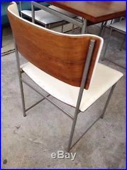 Set aus Tisch und 4 Stühlen vom Designer Cees Braakman für Pastoe