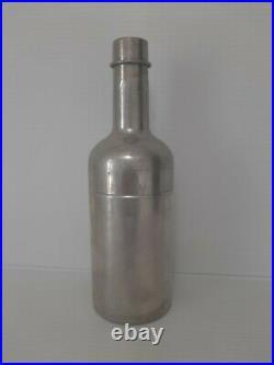 Simon's Havana-Montreal Bottle Shaped Cigar Box Humidor Cocktail Shaker Used