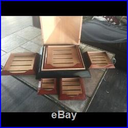 The RARE Pyramid Limited Edition Montecristo Humidor. Only 1000 made