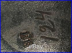Tobacco Jar By Bernard Bloch Depicting French Artist Bb 124