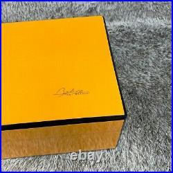 Tony Borhani Cigar Humidor 80-130 Cigar Orange Cedar Vintage by Paradigm