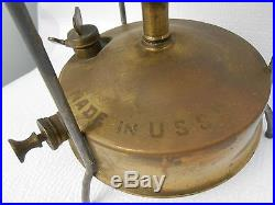 VTG Brass Soviet U. S. S. R. Kerosene Primus Field Camping Stove 8.5 H 8.5 Dia