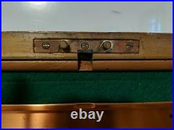 Vintage Alfred Dunhill of London Burl Wood Humidor Copper Fitted PA2052826