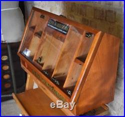 Vintage Antique Henri Wintermans Cigar Tobacco Retail Shop Display Stand Cabinet