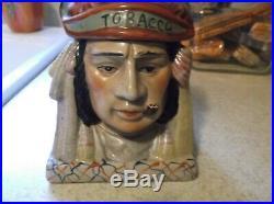 Vintage Chief Tobacco Humidor/Jar