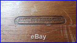 Vintage Cigar Box Humidor H. Upmann