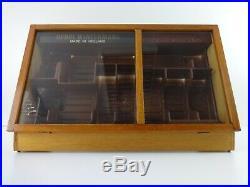 Vintage Cigar Display Case Humidor Henri Wintermans Wooden Handmade Retail Shop