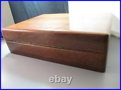 Vintage Dunhill Humidor box wood wooden cigar man cave