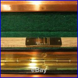 Vintage Dunhill Humidor w Keys Copper Lid