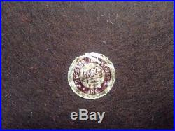 Vintage Mid Century Decatur Industries Genuine Walnut Wooden Cigar Box Humidor