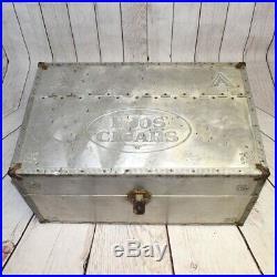 Vintage Moos Cigar Humidor Circa 1900 Large Humidor Free Shipping